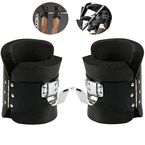 Great Price! Inversion Gravity Boots, Anti Gravity Boots for Pull Up Bar, Comfortable Foam Padding B...