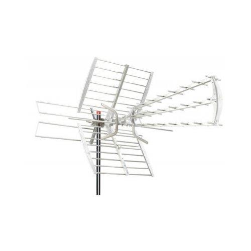 Zodiac ZTL-233-05UV Antenna DTT LTE Free, Argento