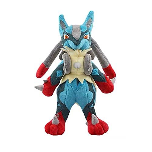 Peluches 26cm Pokemon Lucario Plush Doll Mega Soft Stuffed Peluche Toy Gift Para Niños