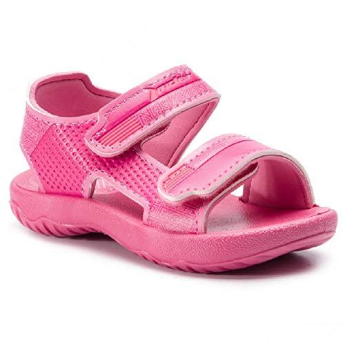 Rider Baby Mädchen Basic Sandalen, Mehrfarbig (Pink/Pink), 22 EU