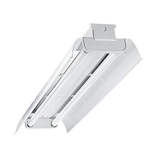 Metalux DMF-232-UNV-EB81-U Heavy Industrial Fluorescent Fixture, 4
