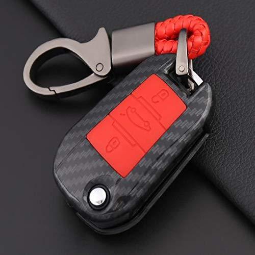 BHYUDYT Funda para llave de coche, para Citroen C4 Cactus C5 C3 C4L 508, 2008, 408, 3008, 5008, 308, C6, CACTUS DS4 DS5L