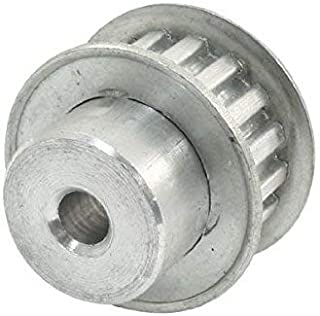2//25 Pitch for 1//8 0.255 Pitch Diameter 3//16 and 1//4 Width Belt 10 Groove Gates PB10MXL025 PowerGrip Aluminum Timing Pulley 1//8 to 1//8 Bore Range