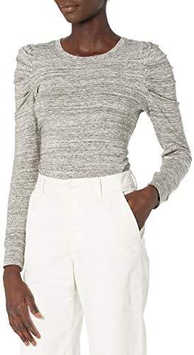 아마존 브랜드 - 데일리 리추얼 여성 슈퍼소프트 테리 플레이티드 슬리브 스웨터