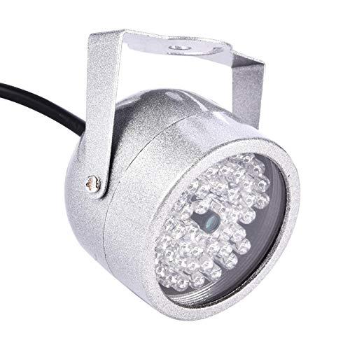 Kudoo Luz infrarroja de Seguridad CCTV IR Light, IR, Noche IP65 Impermeable para Sistema de Seguridad en el hogar