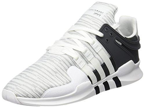 adidas Herren EQT Support ADV Sneakers, Weiß (FTWR White/FTWR White/Core Black), 38 EU
