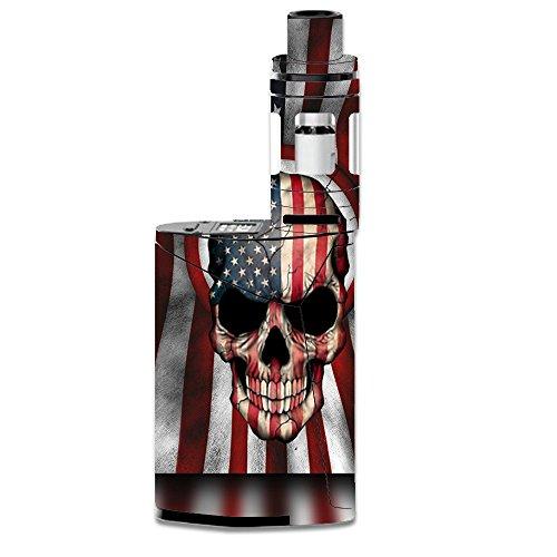 Skin Decal Vinyl Wrap for Smok GX350 Kit Vape Mod stickers skins cover / America Skull Military USA Murica