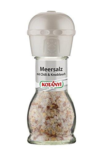 Kotanyi Meersalz mit Chili & Knoblauch Mühle