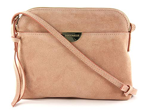 Coccinelle Mini Bag Suede Crossbody Bag New Pivoine