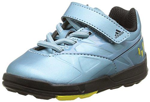 Adidas Baby-Jungen, Sneaker, messi el i, blau (matt ice met.f12/matt ice met.f12/solar yellow), 21