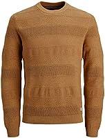 Jack & Jones Jprbluscott Knit Crew Neck Suter Pulver para Hombre