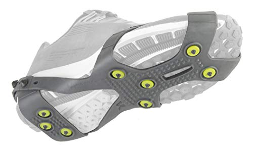 Korkers Ultra Runner Ice Cleat - One-Size-fits-Most - 16 Replaceable Carbide Spikes - for Winter Running