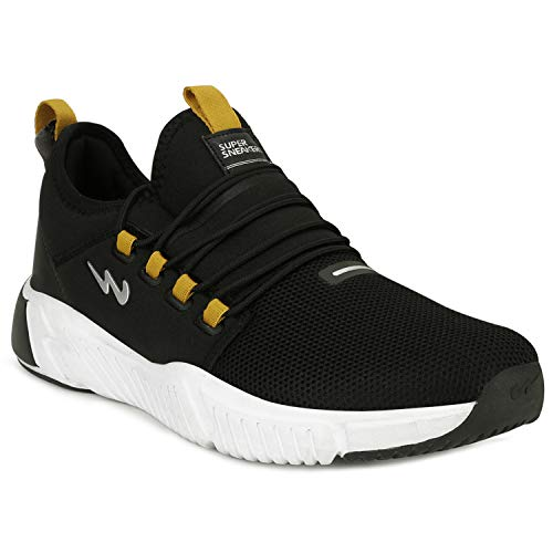 Campus Men's Kent BLK-MSTD Running Shoes