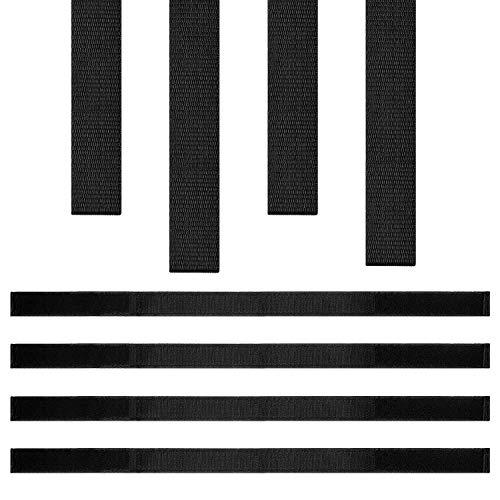4 Piezas Correas Ajustables de Hoverboard Cable de Hoverboard de Sujeción de Gancho y Bucle Correas de Reemplazo de Hoverboard para Accesorios de Kart Scooter de Auto Equilibrio