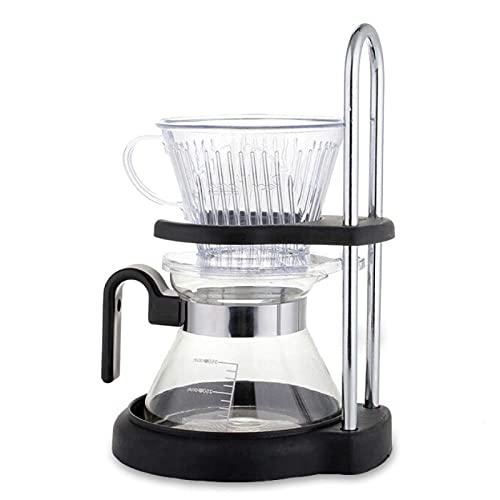 Stojak Kroplówki Kawy Wlać Ekspres Do Kawy Ze Szkła Borokrzemianowego Dzbanek Kroplówki Ekspres Do Kawy Z Uchwytem Filtr Do Kawy, A