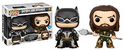 Figuras Pop! Vinyl Movie Justice League Batman + Aquaman Limited 1