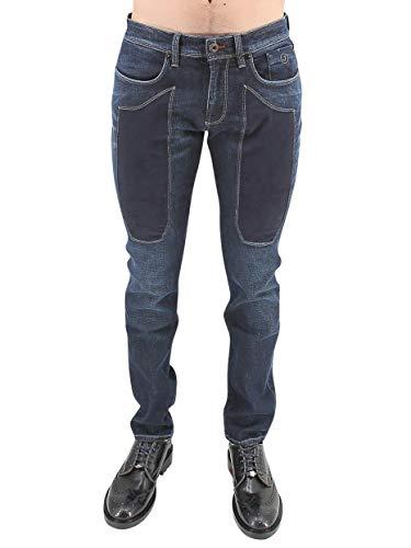 JECKERSON 37PCJUPA77TD00482-4000 Jeans, Blu Profondo, 35 Uomo