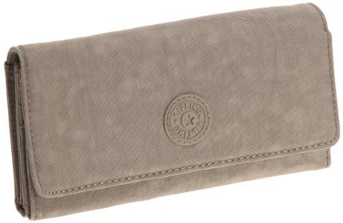Kipling Damen BROWNIE Geldbörse Grau (Warm Grey)