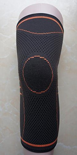 THERMO KUPFER KNIE BANDAGE - 1 Stuck Orange size XL - INTHERMAX©
