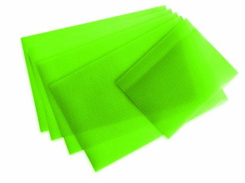 TV Unser Original 04864201218 maxxcuisine - Set 5 tappetini per Frigorifero, Colore: Verde