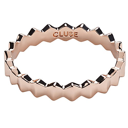 CLUSE Damen-Ringe Vergoldet Kristall '- Ringgröße 54 CLJ40004-54