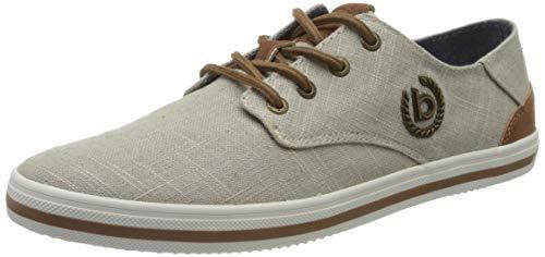 bugatti Herren 321502056900 Sneaker, Grau, 44 EU