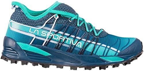 LA SPORTIVA Mutant Woman, Zapatillas de Mountain Running Mujer, Opal/Aqua, 39 EU