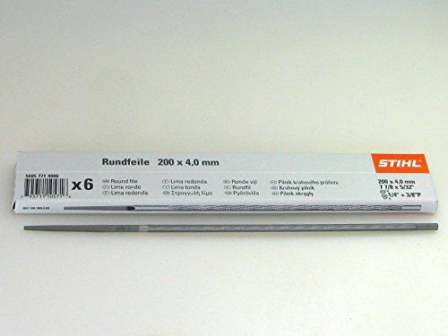 STIHL Rundfeile 6 Stück für Sägeketten 4,0mm 1/4