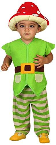 Atosa-23746 Disfraz Duende, color verde, 12 a 24 meses (23746)