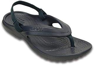 شبشب فليب فلوب كلاسيكي للأطفال من كروكس   حذاء بدون رباط للأولاد والبنات   أحذية مائية, (كحلي), 29 EU