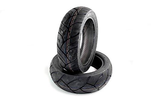 Sommer Reifen Set Kenda K764 Peugeot Elystar 50, Elyseo 50, Django 50 4T Sport, Speedfight 2 100 (120/70-12+130/70-12)