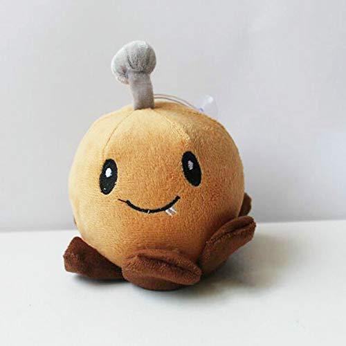 yitao Plüschtier Plante Vs Zombies Génération 2 14 cm 5,5 Pouces Marron Pomme De Terre Mine Jouets En Peluche Poupées,