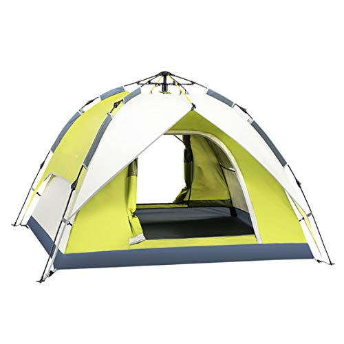 JX-ZHANGPENG 3-4 Persoon Dubbele Laag Waterdichte Dome Tent Winddichte Camping Wandelen Tent Paar Backpacking Bivy Tent voor Outdoor Wandelen