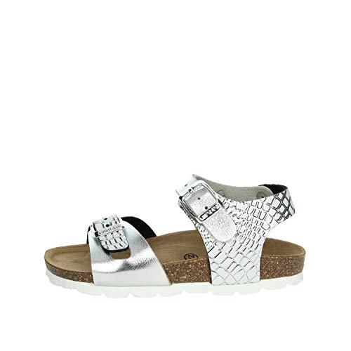 Grunland SB1675-40 Sandalo Bambina Argento 28