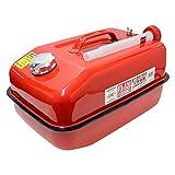 メルテック ガソリン携行缶 20L G-CAN 消防法適合品 KHK [亜鉛メッキ鋼板] 鋼鈑厚み:0.7mm Meltec FX-520