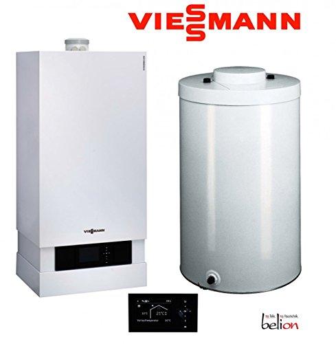 Viessmann Vitodens Paket 200-W 19 kW Heizgerät Vitotronic 200 HO1B Vitocell 100-W 160 l Gastherme