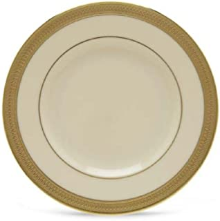 Lenox Lowell Gold Banded Ivory China Butter Plate by Lenox