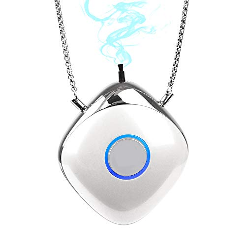Oxy-Angel Personal Travel Mini Portable Air Purifier, Negative Ion Purifier, Necklace Wearable For...