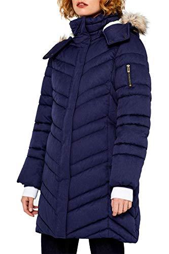 edc by ESPRIT Damen 099Cc1G020 Mantel, Blau (Ink 5 419), X-Large (Herstellergröße: XL)