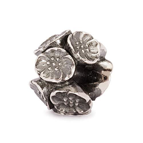 Trollbeads Silber Bead Kirschblüten-Perle