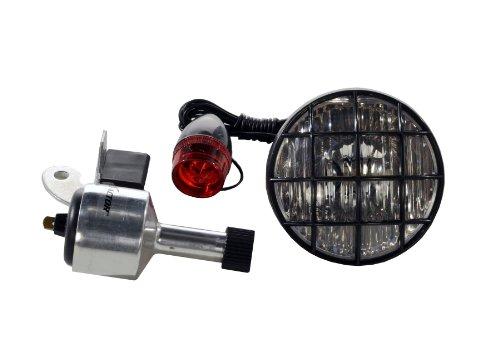 X-Factor 3-Inch Bicycle Generator Light Set