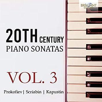 20th Century Piano Sonatas, Vol. 3