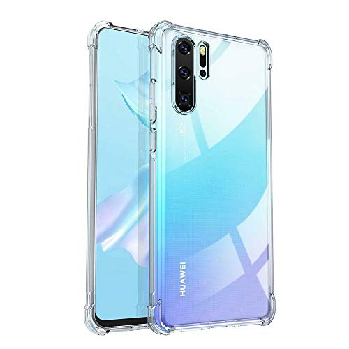 """Capa Protetora Para Huawei P30 Pro 6.47"""" Polegadas Capinha Case Transparente Air Anti Impacto Proteção De Silicone Flexível - Danet"""