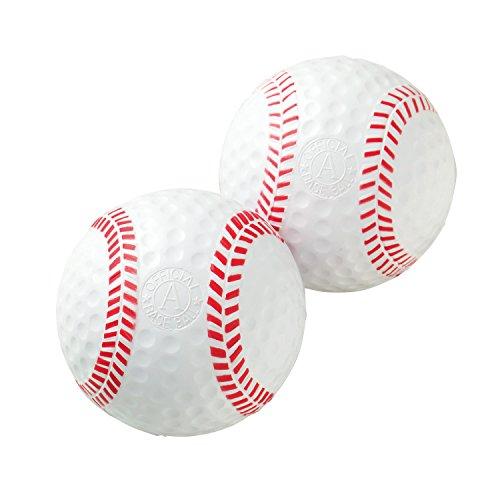 Kaiser(カイザー) やわらか ボール 軟式タイプ 2個入り KW-040 野球 レジャー ファミリースポーツ