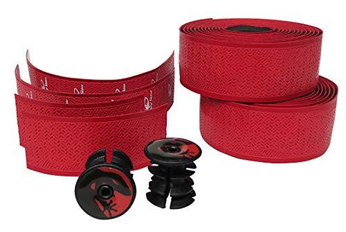 Lizard Skins DSP Bartape 1,8 mm Lenker für Erwachsene, Unisex, Crimson Rot, Einheitsgröße