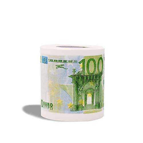 Eurowebb toiletpapier toiletpapier 100 Euro toiletpapier