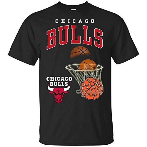 Chicago Bulls T-Shirt Chicago Bulls Basketball Men's tee Shirt S-5XL