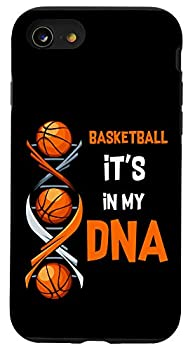 iPhone SE  2020  / 7 / 8 Basketball It s In My DNA Funny Player Coach Team Sport Case