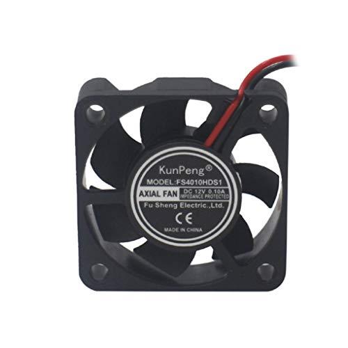 teng hong hui DC4010 DC12V refrigeración Impresora Caso Ventilador Caja de la computadora del Ventilador Enfriador de PC 3D humidificador Ventilador 40x40x10mm