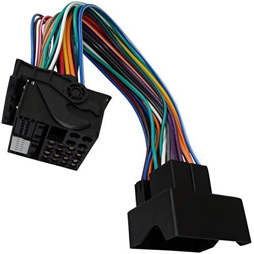 AERZETIX: ISO-Konverter - Adapter - Kabel Radioadapter Radio Kabel Stecker ISO-Kabel Quadblock Verbindungskabel